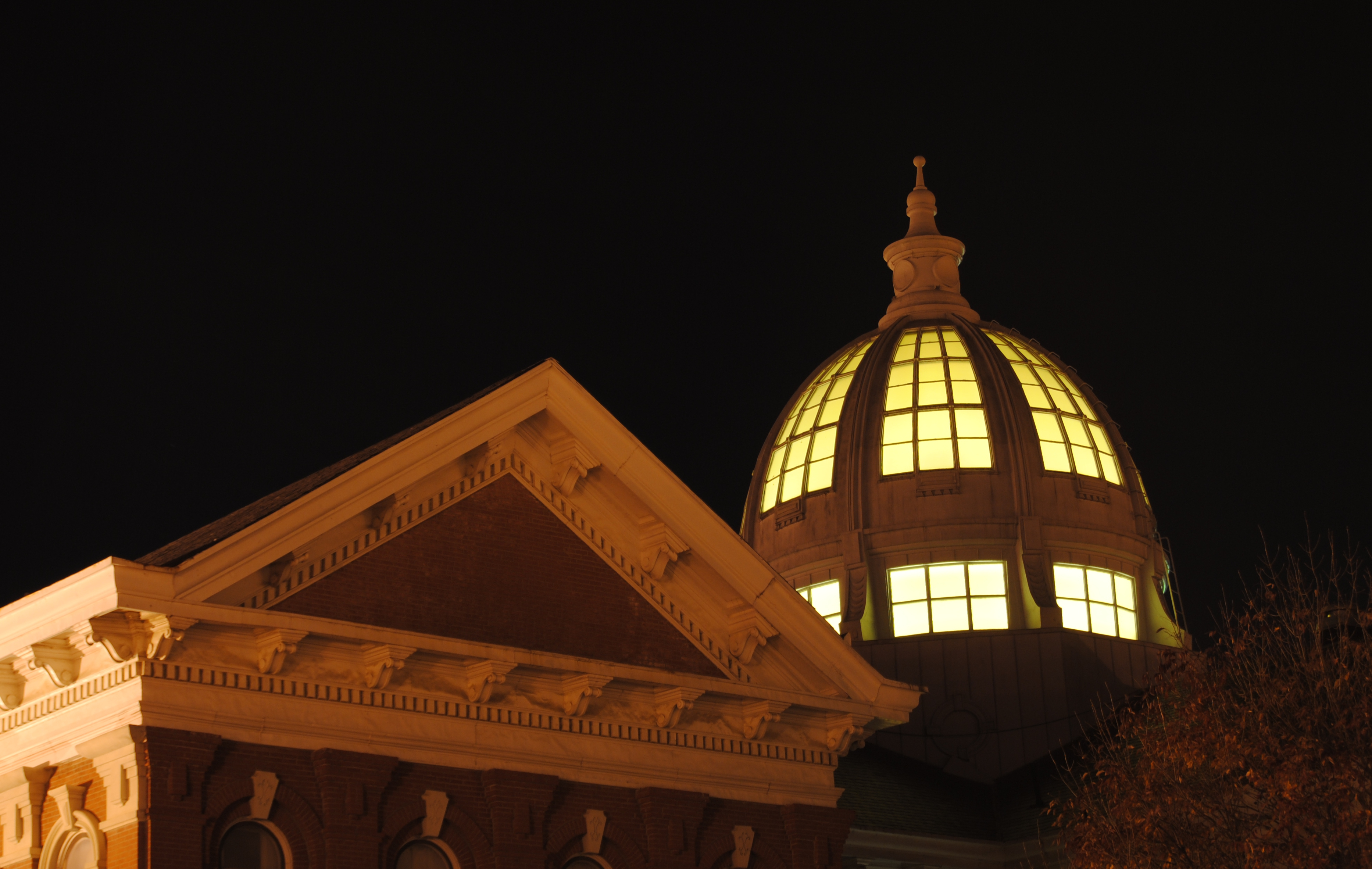 Dome at Night